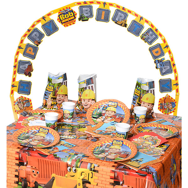 Partyset Bob the Builder, 50-tlg.