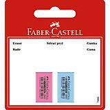 Флуоресцентный ластик Faber-Castell, 2 шт