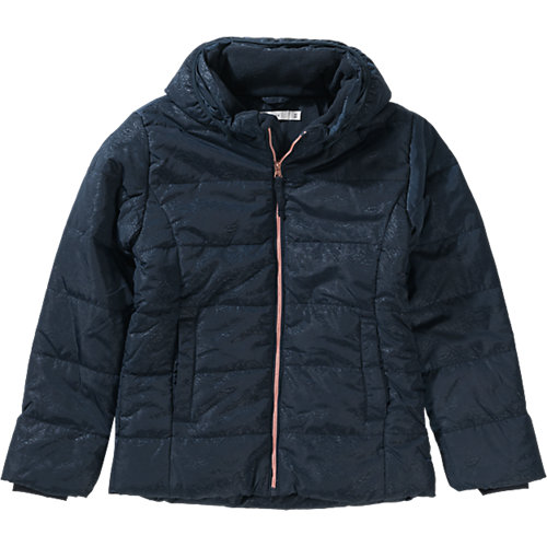 NAME IT Winterjacke mit Kapuze NITMIT Gr. 140 Mädchen Kinder   05713448398701