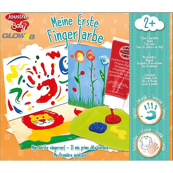 Fingerfarbe Weihnachten.Meine Erste Fingerfarbe Joustra