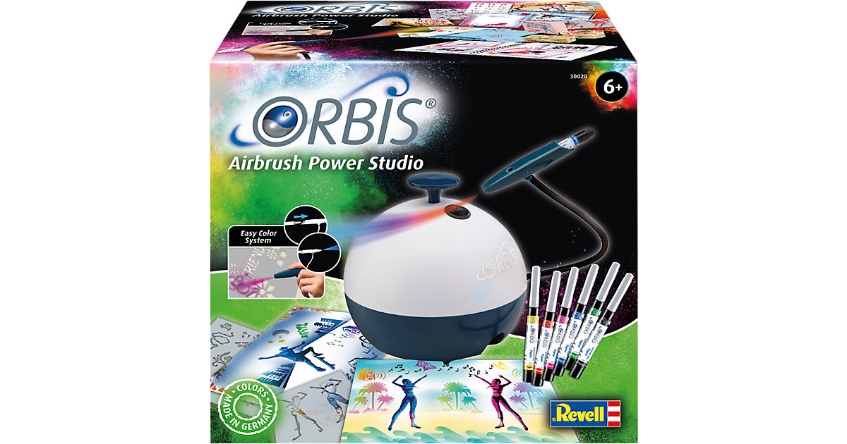 Revell · Orbis Airbrush Power Studio NEW mit Working Station