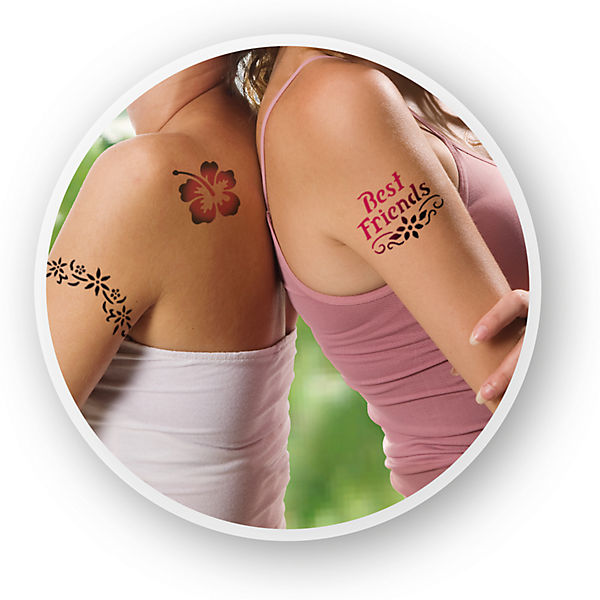 Orbis 30307 Airbrush Tattoo Set Für Mädchen Revell Mytoys