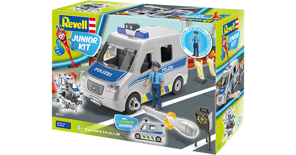 Revell Junior Kit - Police Van