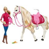 Игровой набор Barbie Кукла и лошадь мечты