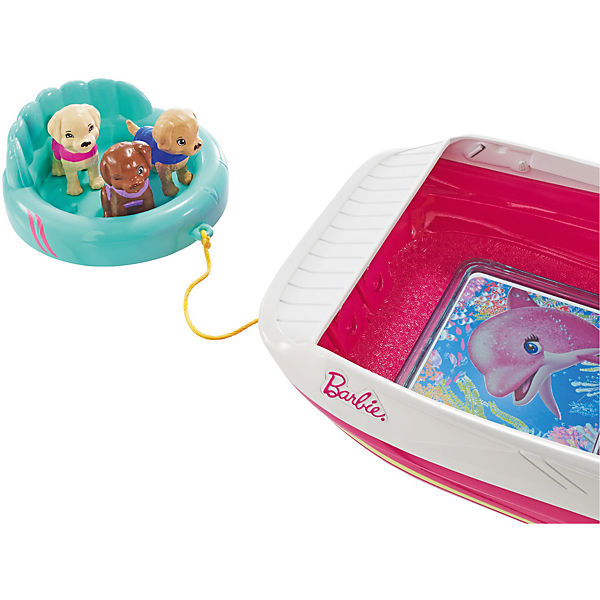Игровой набор Barbie «Моторная лодка с аксессуарами»