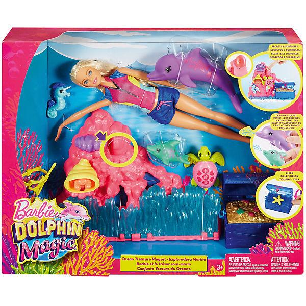 Игровой набор Barbie из серии «Морские приключения»