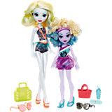 Набор кукол Monster High «Семья Монстриков», Лагуна Блю и ее сестра Келпи