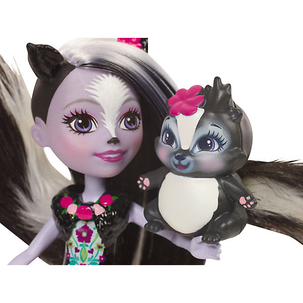 Кукла-скунс Enchantimals Сэйдж Сканк