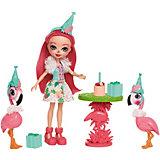 """Набор с куклой Enchantimals """"День рождения фламинго"""""""