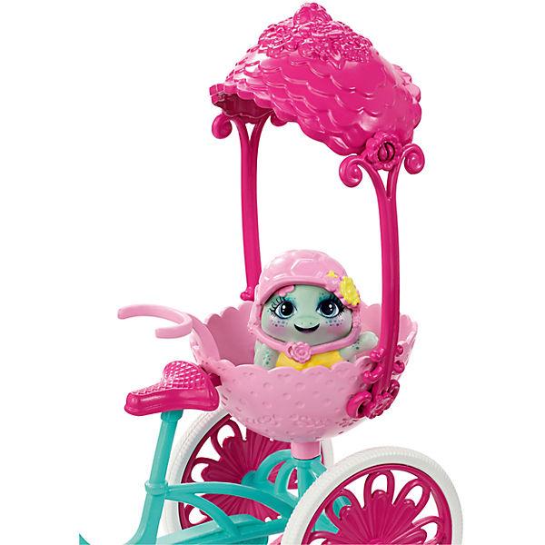 Кукла Enchantimals Тайли Черепаша на трехколесном велосипеде