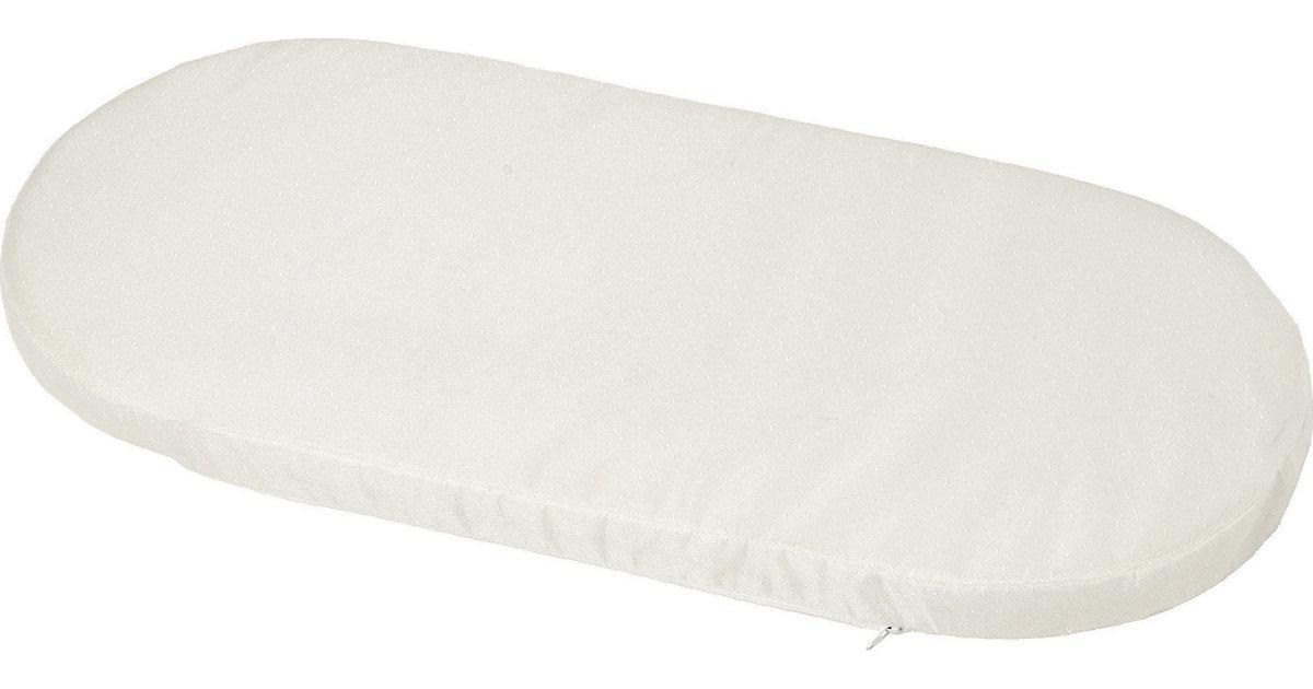 Baby Matratze Stubenwagen, 72 x 32 cm weiß Gr. 32 x 75  Kinder | Kinderzimmer > Textilien für Kinder > Kinderbettwäsche | Weiß | Polyurethan | candide