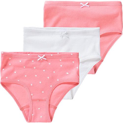 Sanetta 3er-Pack Hüftslips Feen, Organic Cotton Gr. 128 Mädchen Kinder   04055502595932