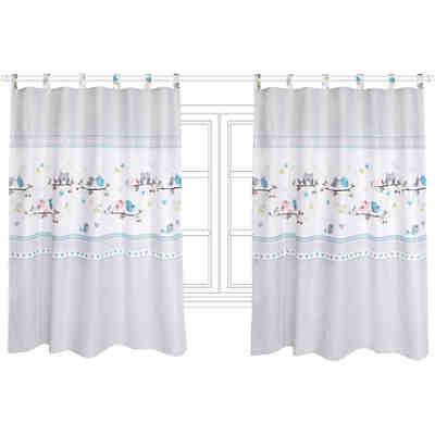 vorhang set wolke grau je 130 x 150 cm 2 schals alvi. Black Bedroom Furniture Sets. Home Design Ideas