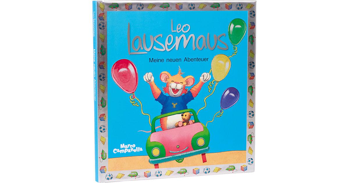 Buch - Leo Lausemaus: Meine neuen Abenteuer, Jubiläumsband mit schimmerndem Einband