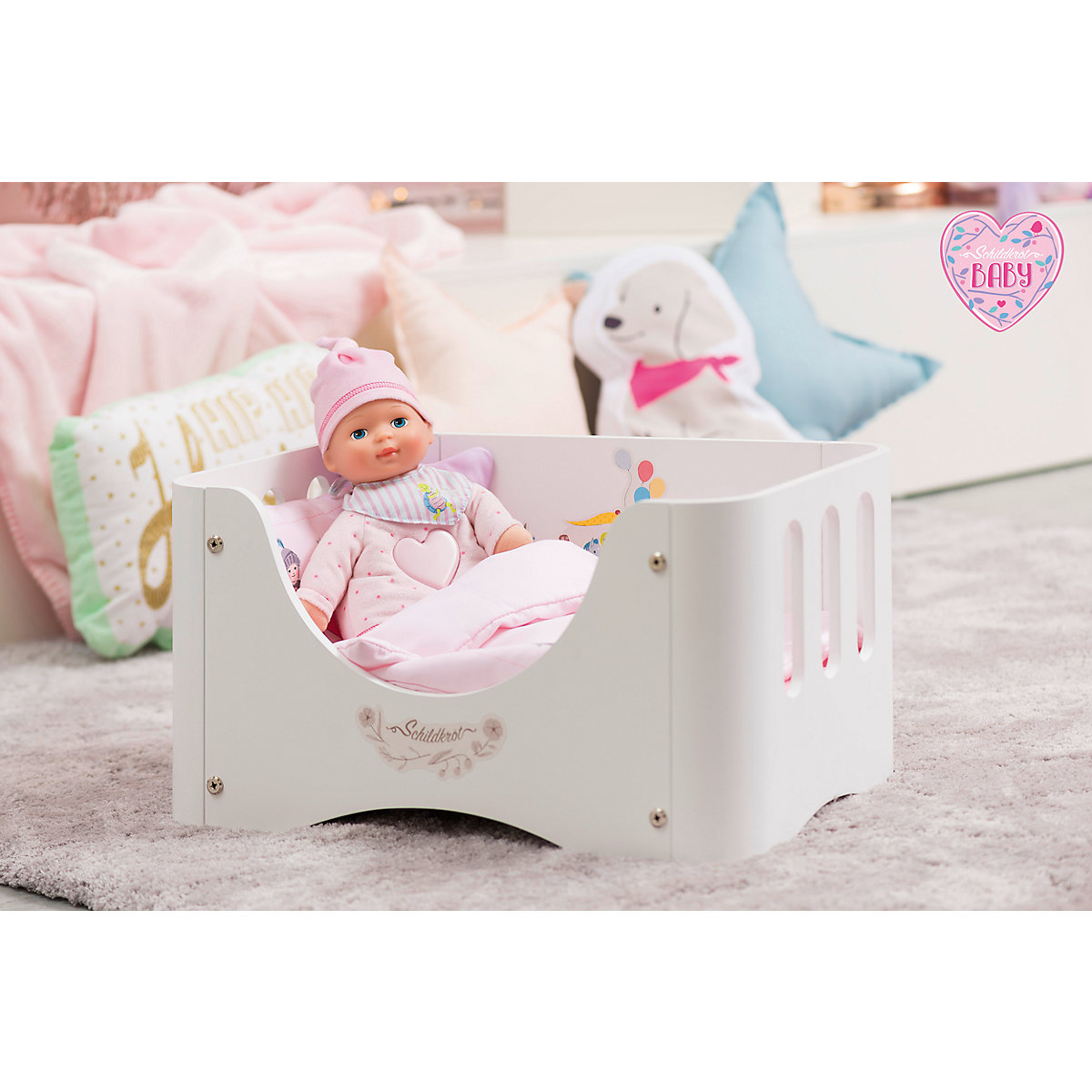 schildkr t baby girl puppe mit musik und licht 35 cm schildkr t mytoys. Black Bedroom Furniture Sets. Home Design Ideas