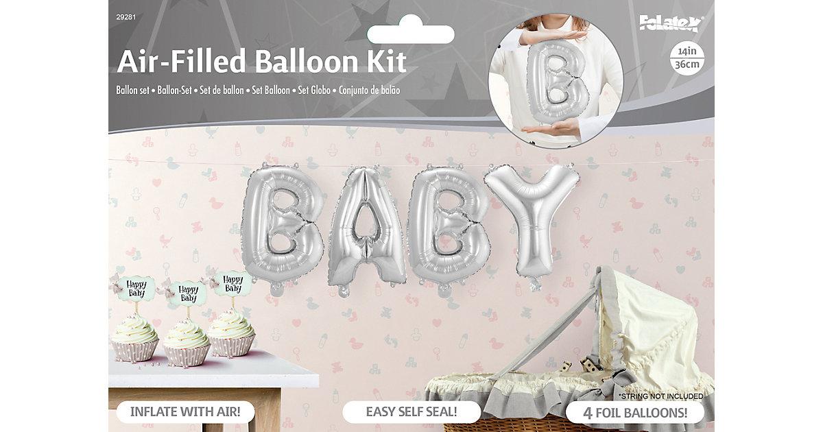 Folienballongirlande BABY