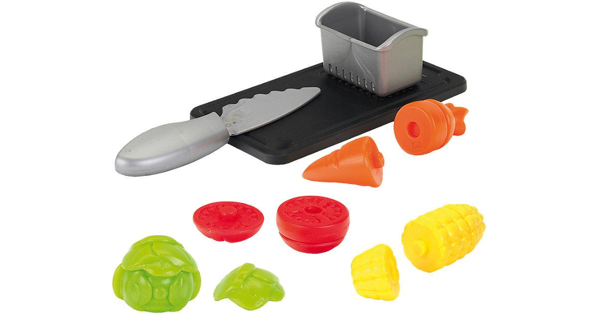 Gemüse Set mit Schneidbrett und Abtropfkorb