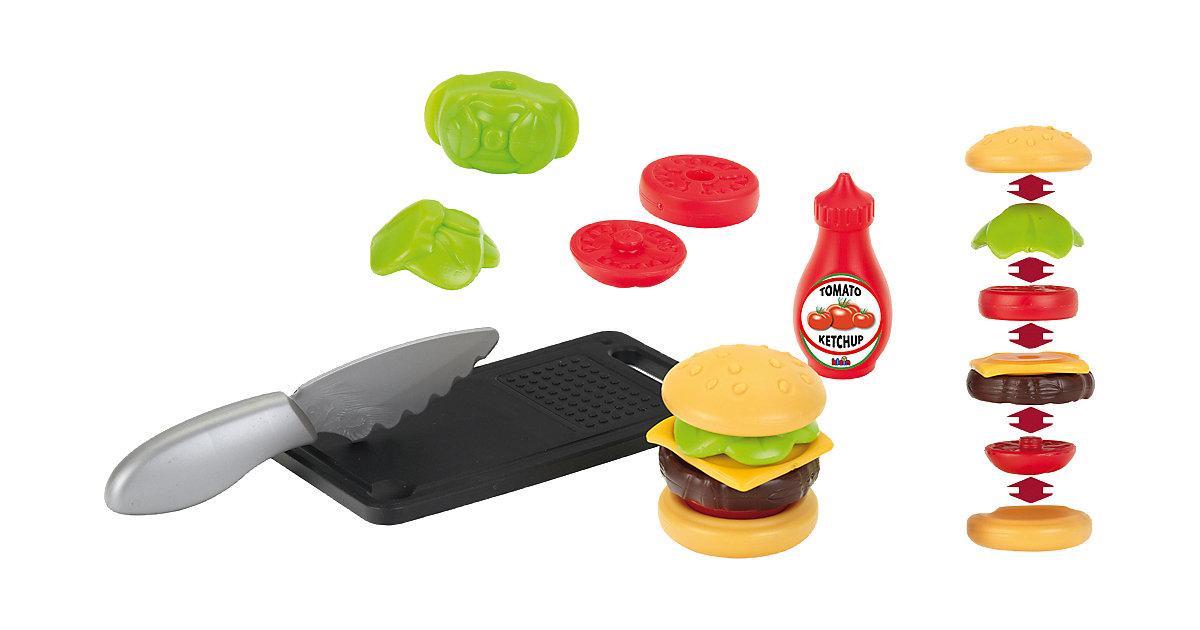 Hamburger Set mit Schneidbrett