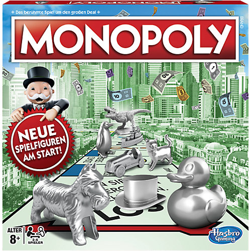Hasbro Monopoly Classic Neuauflage Sale Angebote Schwarzbach