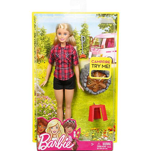 Кукла Barbie у костра, Блондинка от Mattel