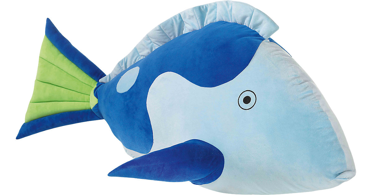 HEUNEC · XL Fisch blau, 120 cm
