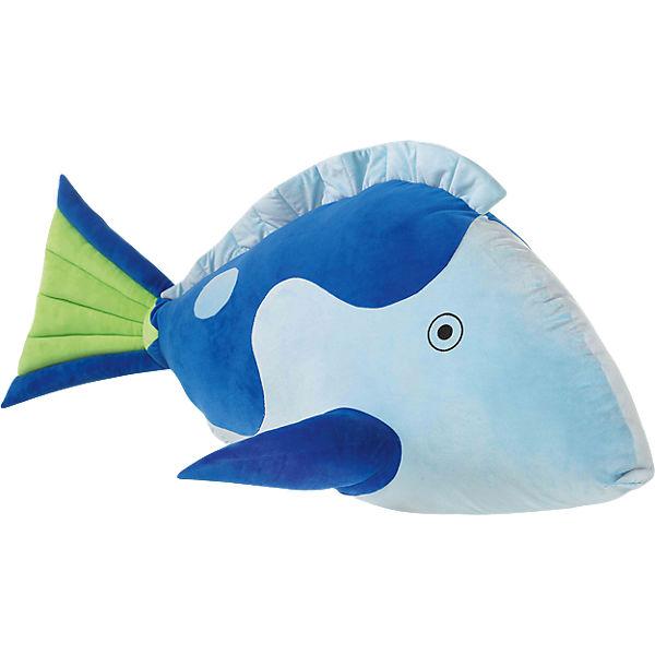 XL Fisch blau, 120 cm, Heunec