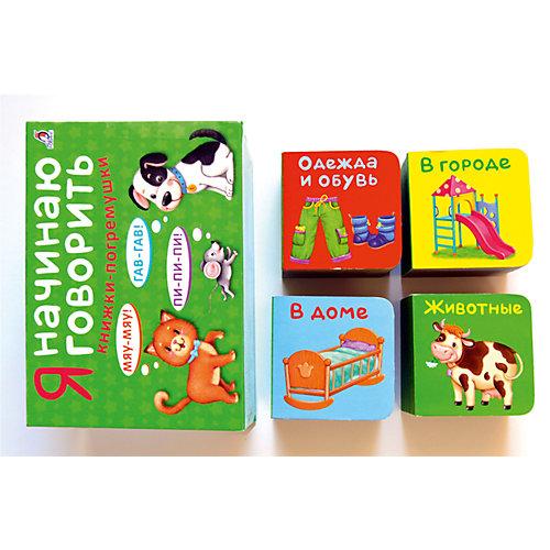 """Книжки-кубики """"Я начинаю говорить"""" от Робинс"""
