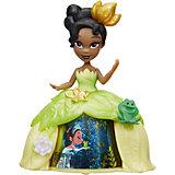 Кукла Принцесса в платье с волшебной юбкой Тиана, Принцессы Дисней, Hasbro