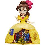 Кукла Принцесса Дисней Бель в платье с волшебной юбкой
