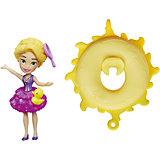 Кукла Рапунцель, плавающая на круге, Принцессы Дисней, Hasbro