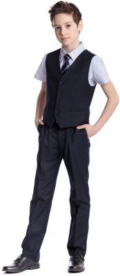 Комплект для мальчика: брюки, жилет S'cool - синий