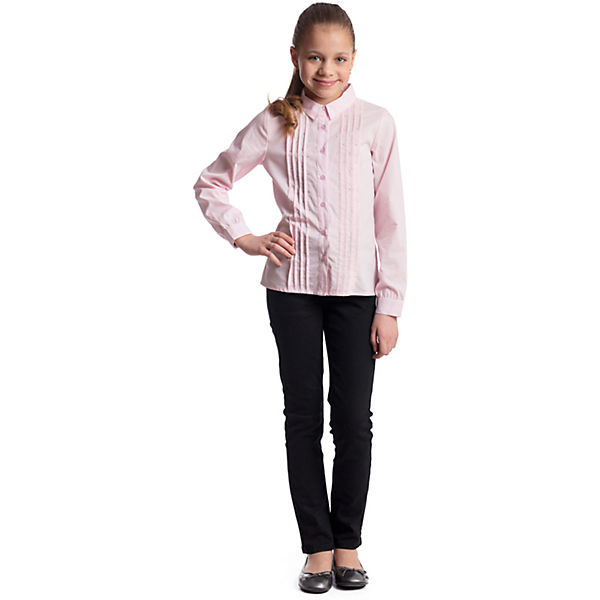 Брюки текстильные для девочки S'cool