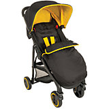 Прогулочная коляска Blox, Graco, черный с желтым
