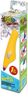 """Картридж для 3Д ручки """"Вертикаль"""", желтый"""