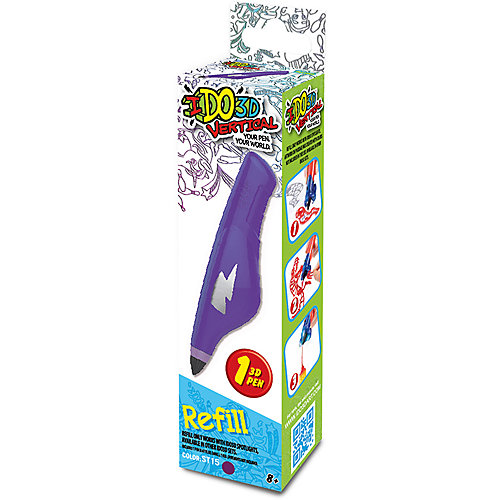 """Картридж для 3Д ручки """"Вертикаль"""", пурпурный от REDWOOD 3D"""