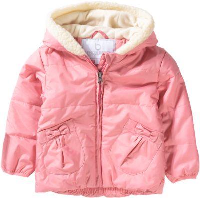 Baby winterjacke pink