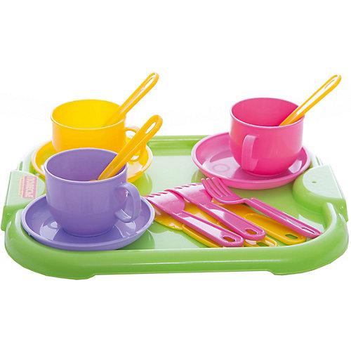 """Набор детской посуды """"Минутка"""" с подносом, Полесье от Полесье"""