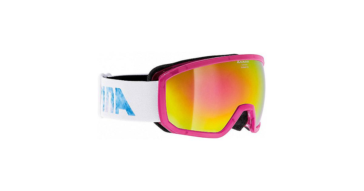 Skibrille Scarabeo Jr pink
