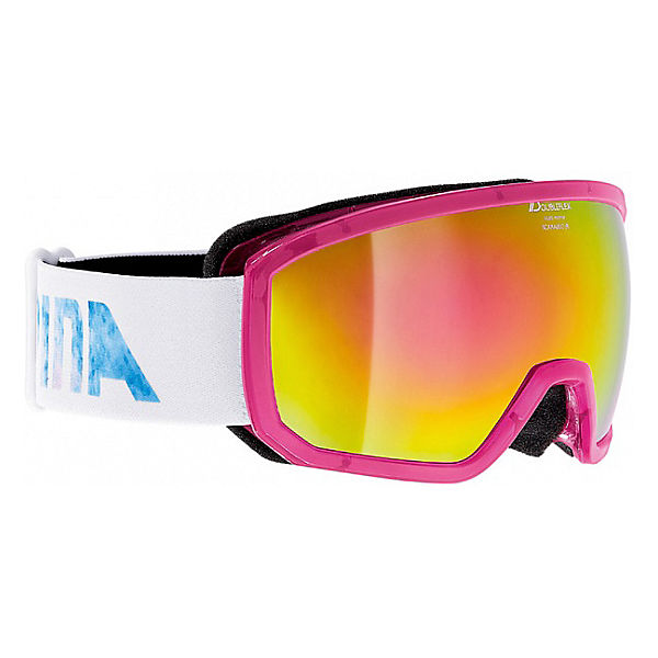 "Горнолыжные очки Alpina ""SCARABEO JR. MM transl. Pink MM pink sph. S3/MM pink sph. S3"""