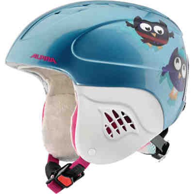 Skihelm Carat happy owles metallic