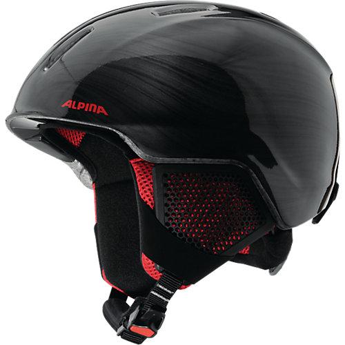 """Зимний шлем Alpina """"CARAT LX"""" black-lumberjack - черный от Alpina"""