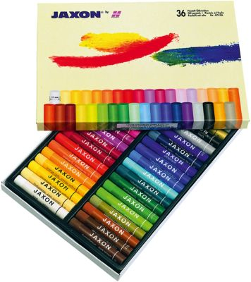 Jaxon Ölmalkreiden, 36 Farben