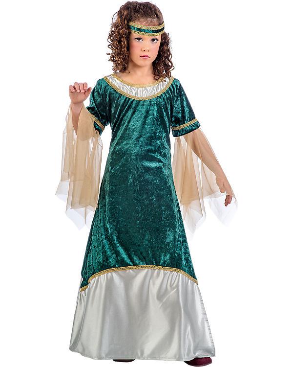 Kostüm Mittelalterliches Mädchen Olivia grün, 2-tlg., Limit Limit Limit 16c53b