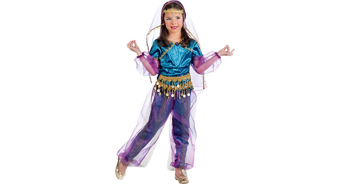 Kostüm Orient Mädchen, 4-tlg. Gr. 140/152 Mädchen Kinder