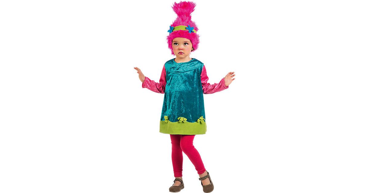 Kostüm Püppchen Poppyta, 2-tlg. mehrfarbig Gr. 104/116 Mädchen Kleinkinder