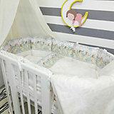 Комплект в круглую кроватку 7 предметов By Twinz, Ангелы