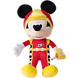 """Disney Мягкая игрушка """"Микки и весёлые гонки: Микки Маус"""" (34 см, звук, музыка)"""