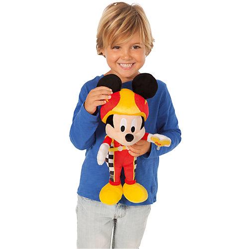 """Disney Мягкая игрушка """"Микки и весёлые гонки: Микки Маус"""" (34 см, звук, музыка) от IMC Toys"""