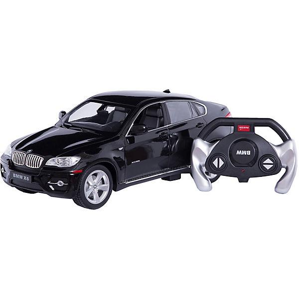Радиоуправляемая машина BMW X6 1:14, Rastar, черная