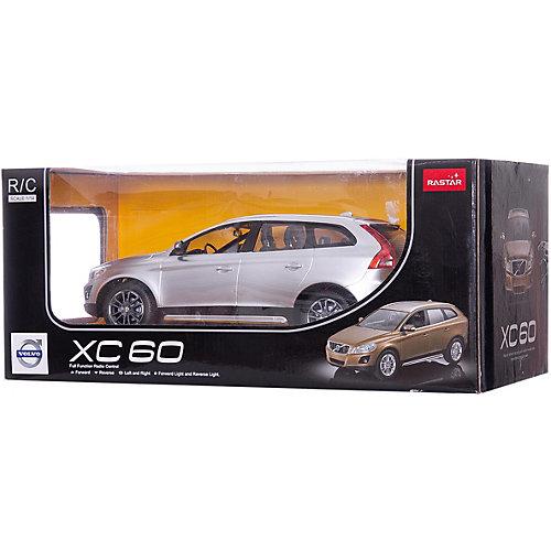 Радиоуправляемая машина Volvo XC60 1:14, Rastar, серебряная от Rastar